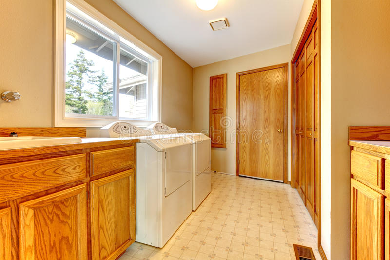 Download Practical Design Of Laundry Room Stock Image - Image: 38787037