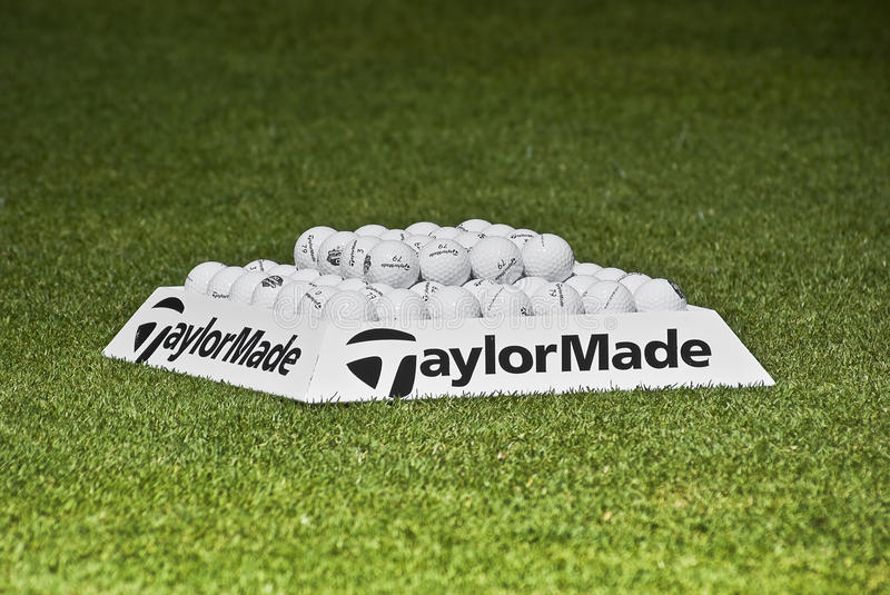 Download Practice Balls - Taylormade Editorial Photo - Image: 12154311