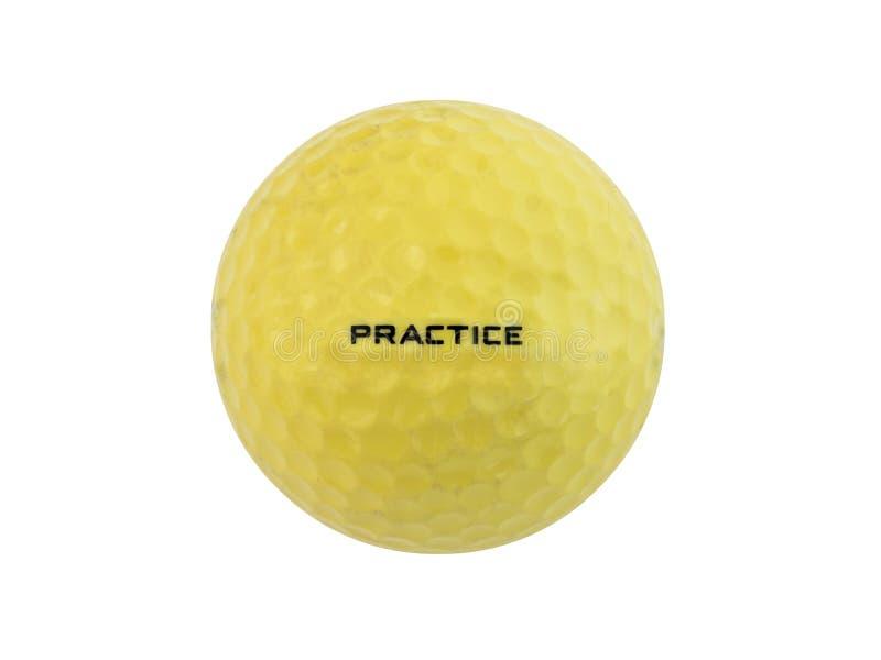 Practice Golf Ball stock photo