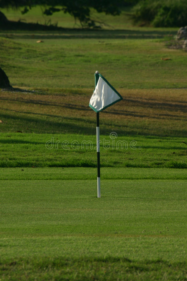 Practice Putting Green royalty free stock images
