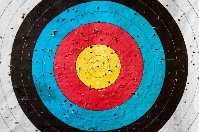 Practice target stock image