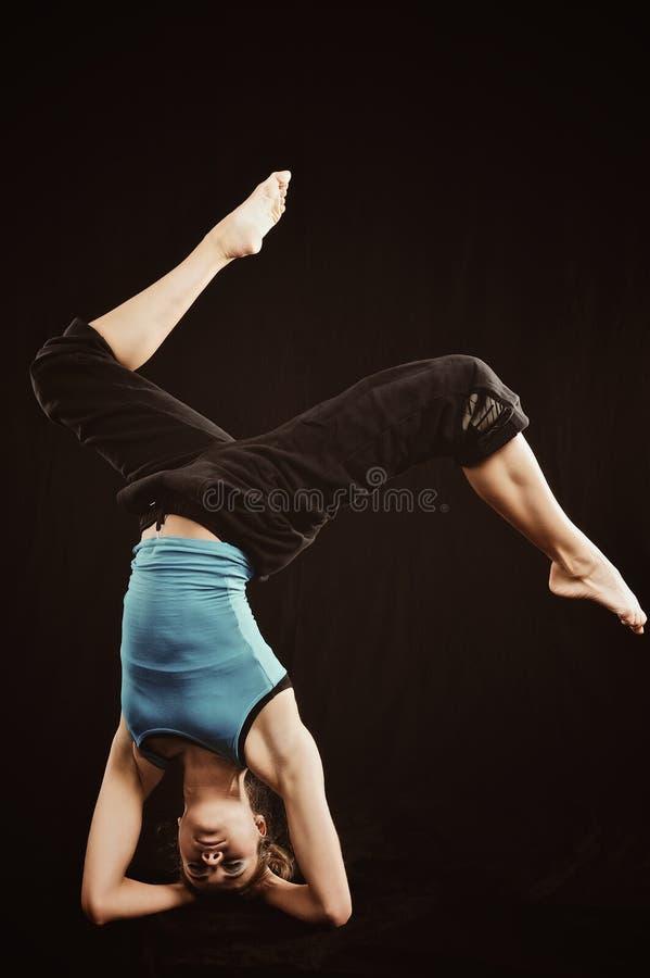 Download Practise Yoga stock image. Image of person, acrobat, sportsman - 21633971