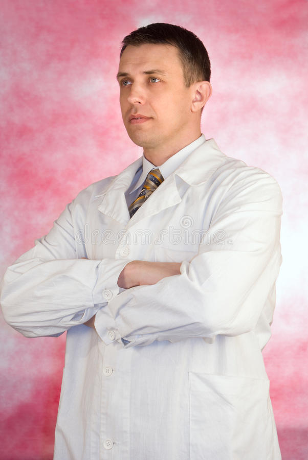 Download The practising doctor stock image. Image of mature, photography - 18800995
