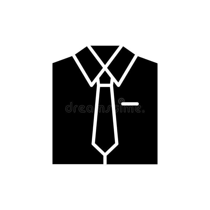 Pracujący jednolity czarny ikony pojęcie Pracujący jednolity płaski wektorowy symbol, znak, ilustracja ilustracji