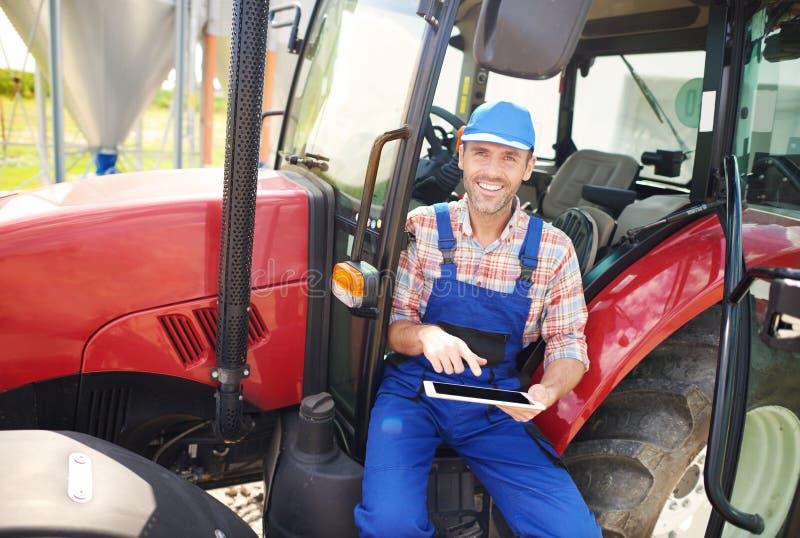 Pracujący rolnik zdjęcia stock