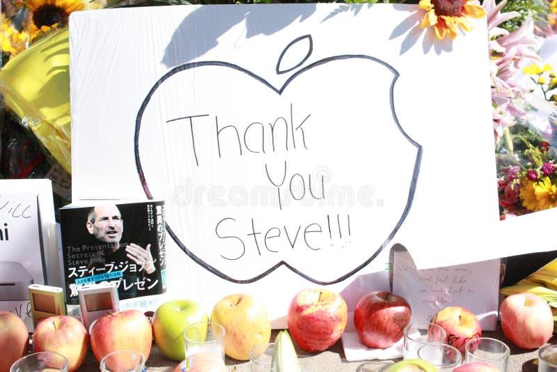 pracy Steve dziękować ty obrazy royalty free