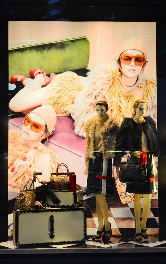 Download Prada Fashion editorial stock image. Image of skirts - 21349799
