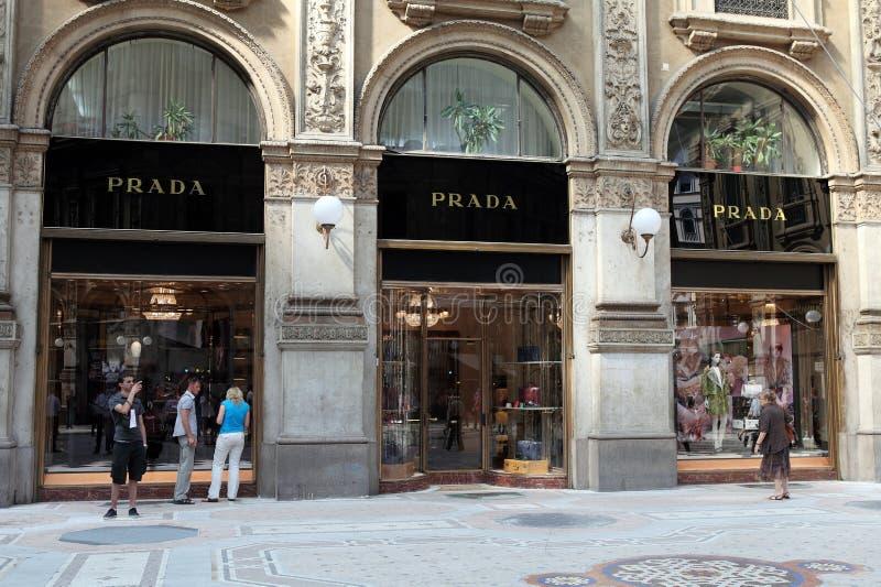 Prada Store Editorial Image