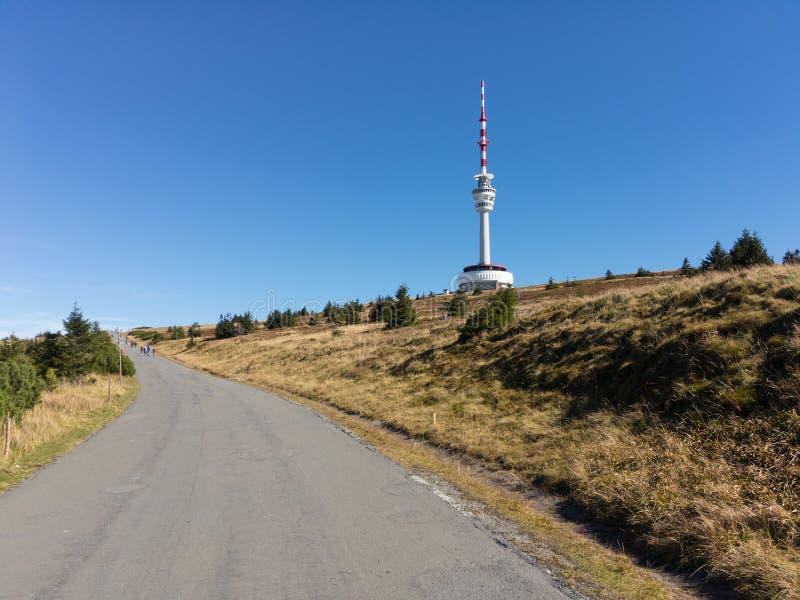Praded, montañas de Jeseniky, República Checa/Czechia foto de archivo libre de regalías