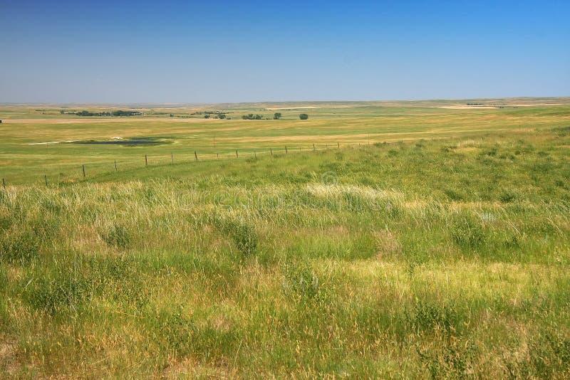 Pradera en Dakota imagen de archivo libre de regalías