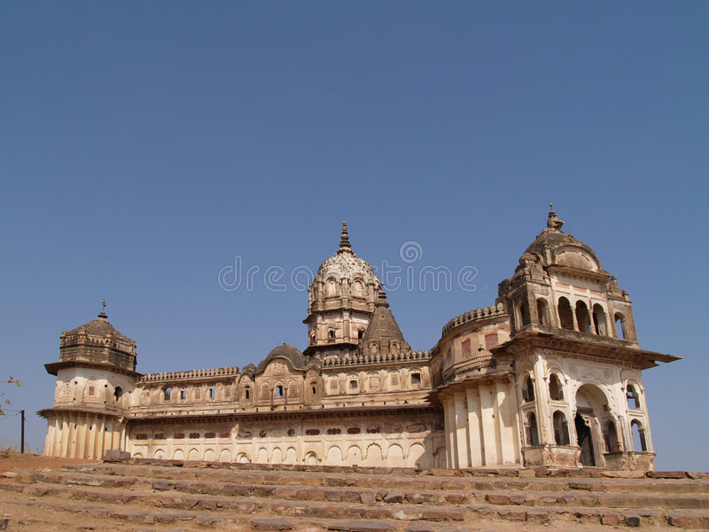 Download Pradesh De Palais D'orcha De Madhya Photo stock - Image du religion, historique: 8666380
