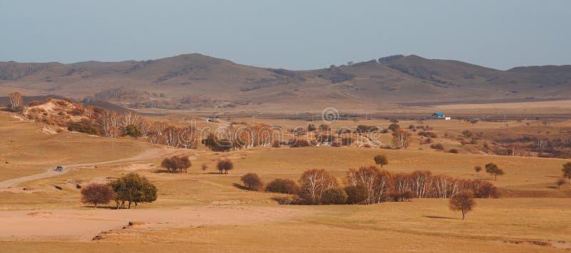 Prado de Bashang en Inter-Mongolia de China fotografía de archivo