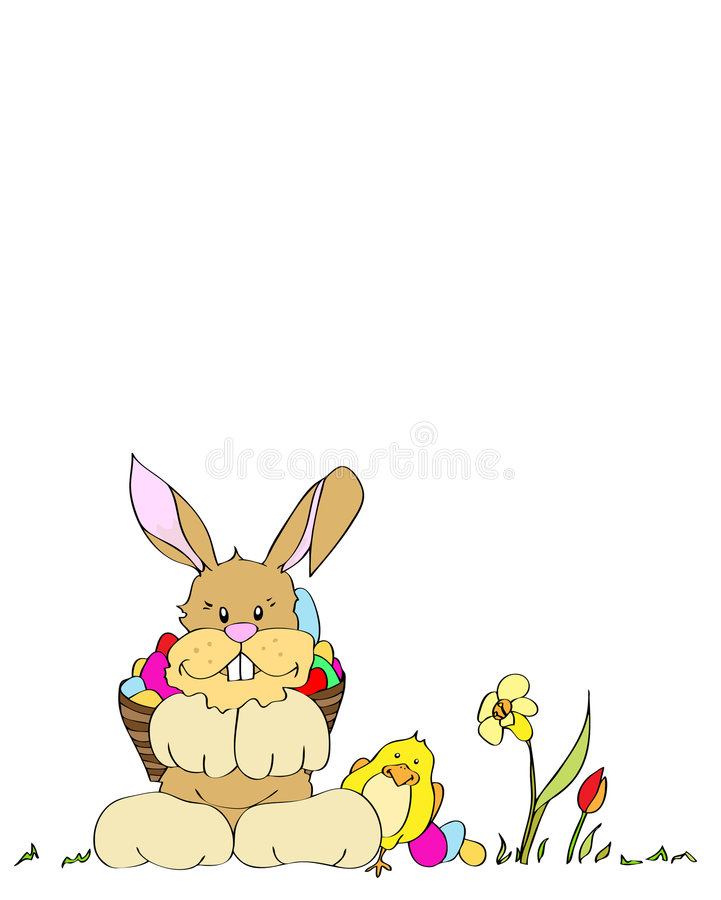 Prado de Easter ilustração stock
