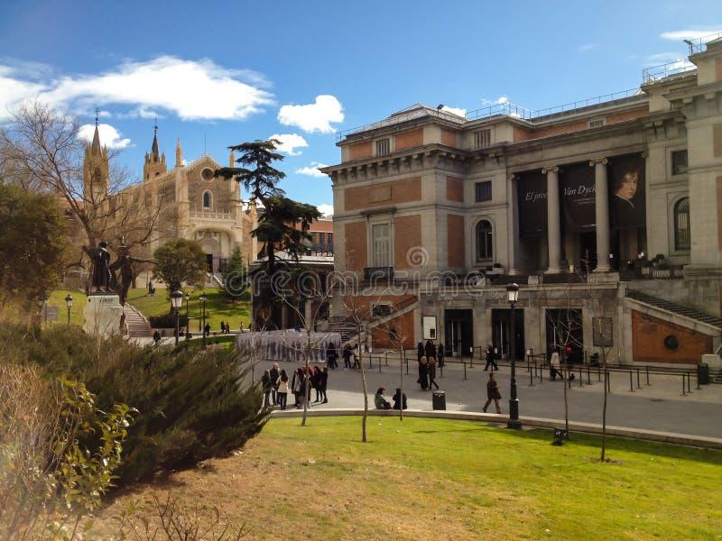 Prado, Madrid lizenzfreies stockbild