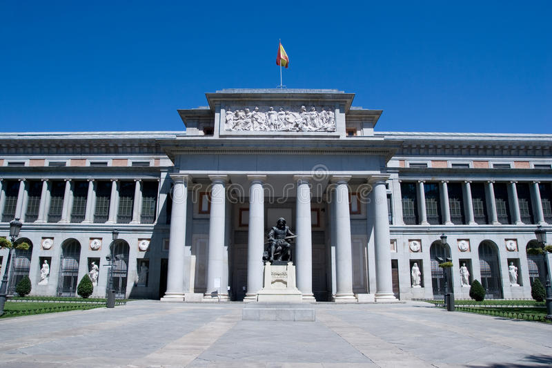 Prado Museum stockfoto