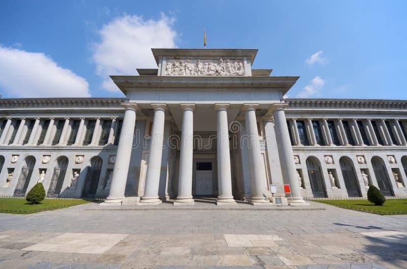 Prado Museum. West access in the Prado Museum, Madrid, Spain stock photography