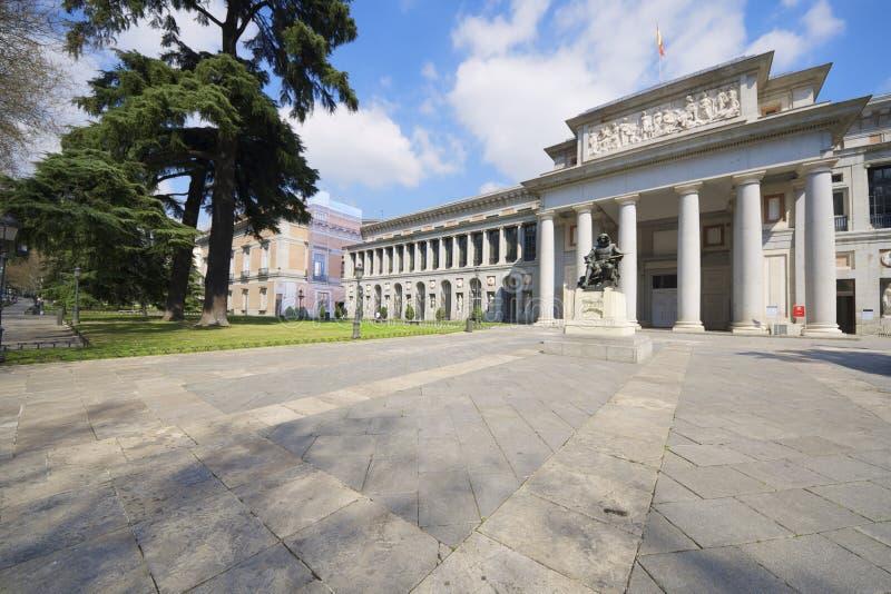 Prado Museum. West access in the Prado Museum, Madrid, Spain royalty free stock images