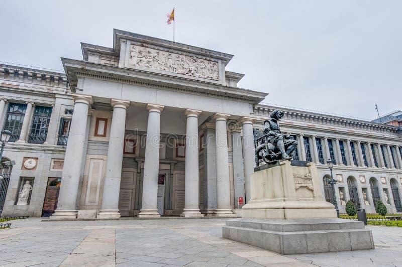 Prado Museum in Madrid, Spanien lizenzfreie stockfotografie