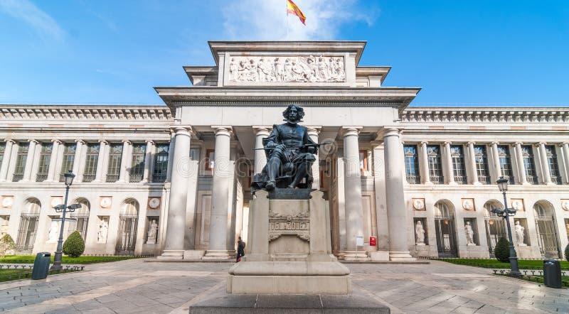 Prado Museum Museo del Prado in Madrid Spanien lizenzfreies stockfoto