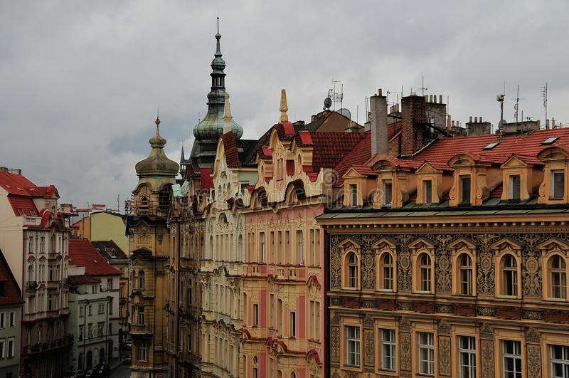Prag, alte Stadt stockfoto