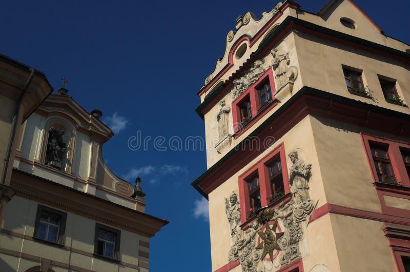 Prag-Architektur lizenzfreie stockbilder