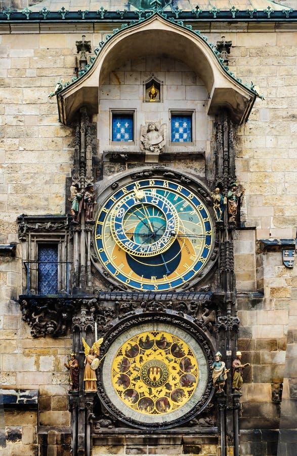 Prag-astronomische Borduhr lizenzfreie stockfotografie