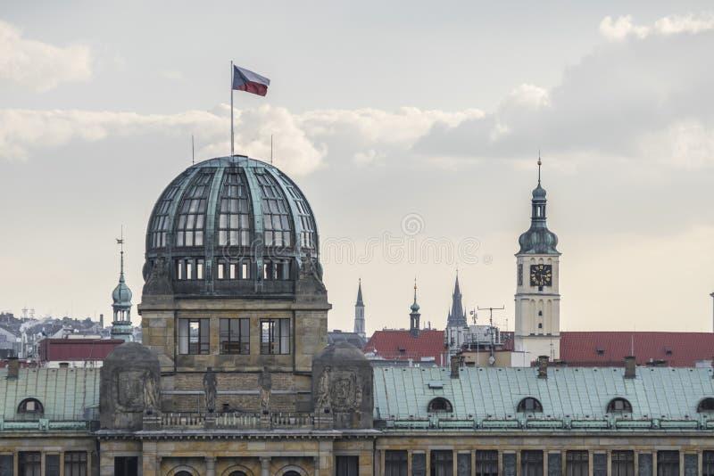 Prag basilic von LetnÃ-¡ Garten, Prag lizenzfreies stockfoto