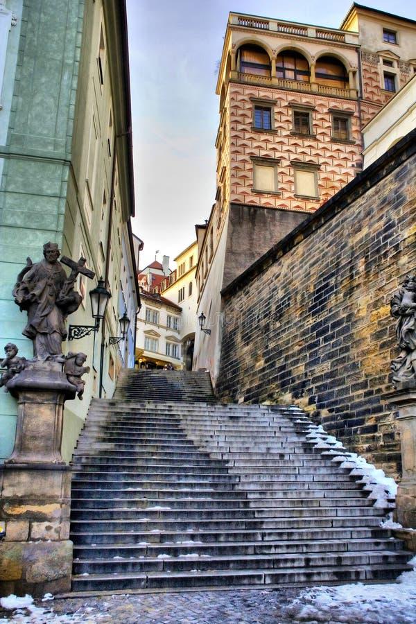 Prag-Durchführung lizenzfreie stockfotografie
