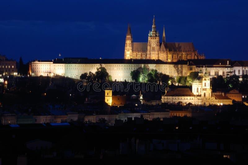 Prag-Schloss in der Tschechischen Republik stockbild