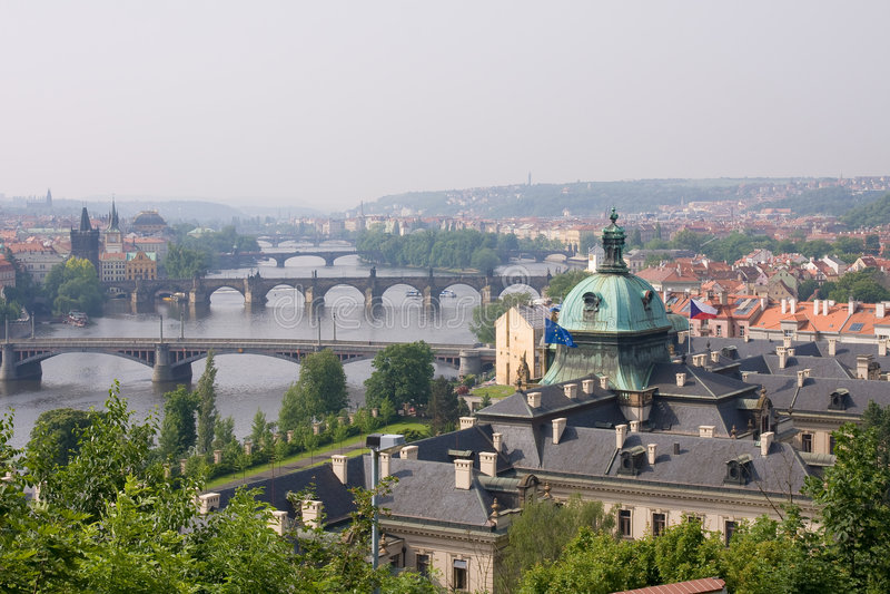 Prag storico fotografia stock libera da diritti