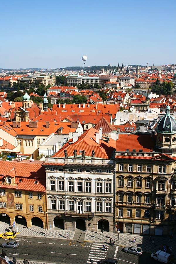Prag-Straße lizenzfreies stockbild