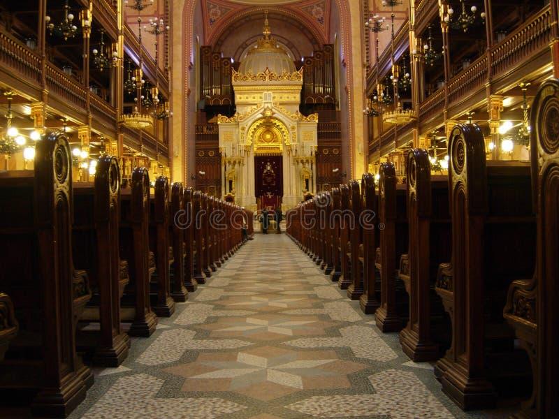 Prag-Synagoge stockfotografie