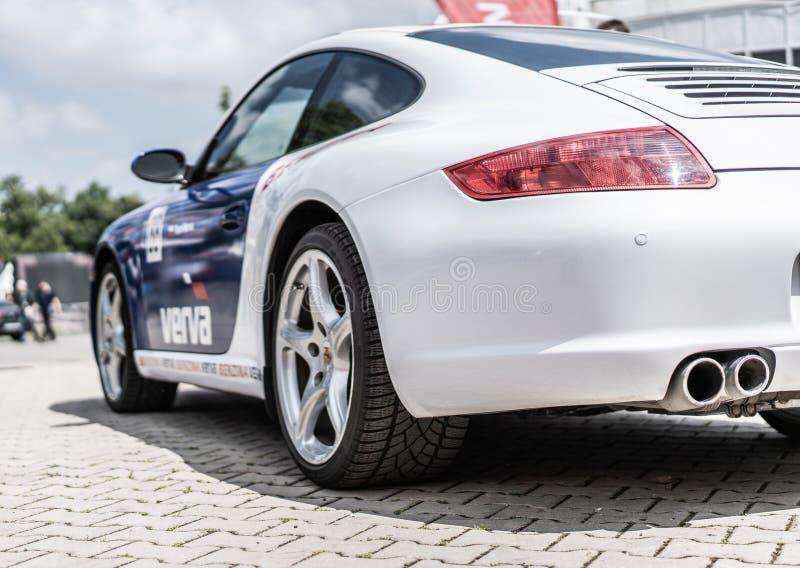 Prag, Tschechische Republik - 16/5/2019 Porsche 911 lizenzfreie stockfotografie