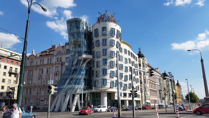 Praga дома танцев стоковая фотография