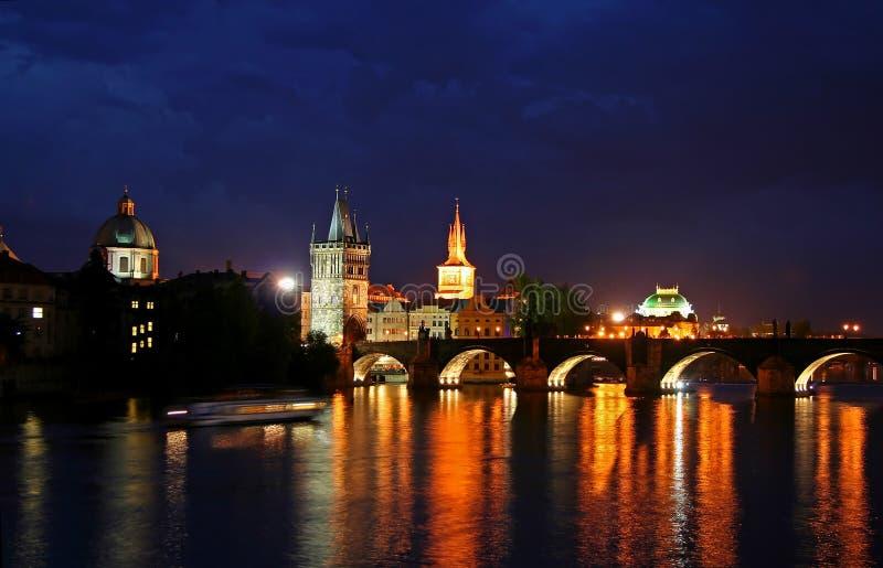 Praga, ceca fotografia stock