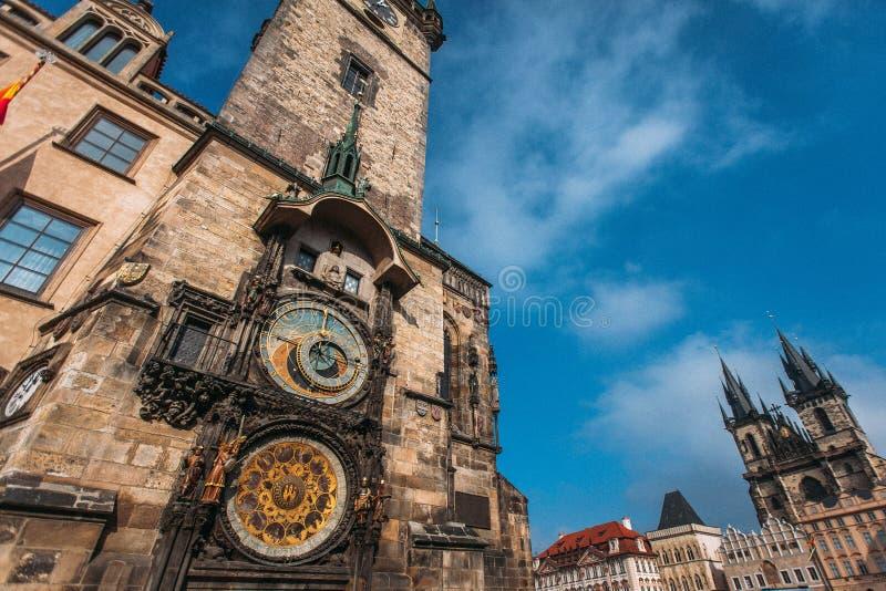 Praga cesky krumlov republiki czech miasta średniowieczny stary widok obrazy royalty free
