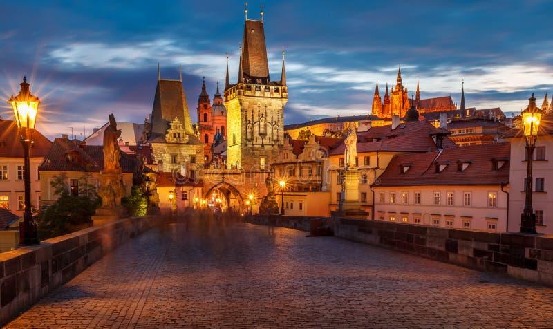 Praga Charles most -3 zdjęcie stock