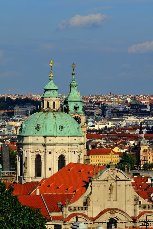 Praga - ciudad vieja fotos de archivo