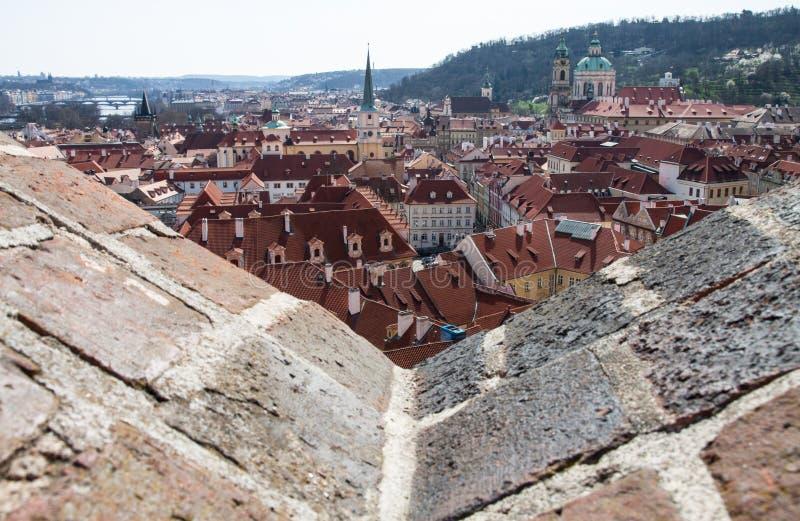 Praga do castelo imagens de stock royalty free