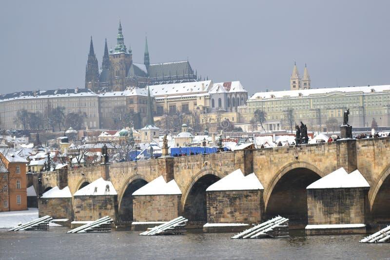 Praga em República Checa fotografia de stock