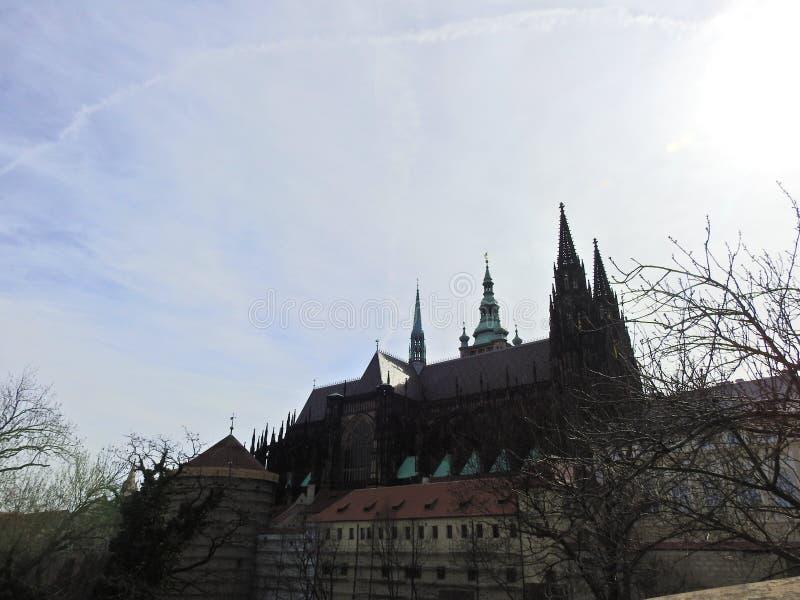 Praga en la primavera 2019 foto de archivo