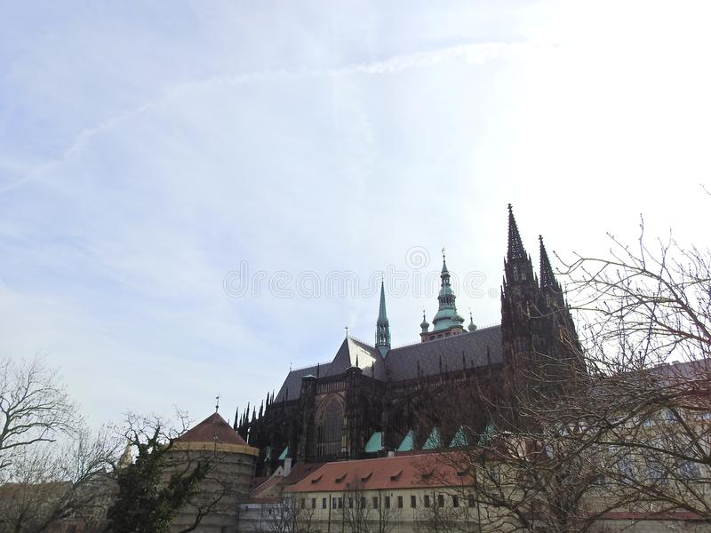 Praga en la primavera 2019 imagen de archivo