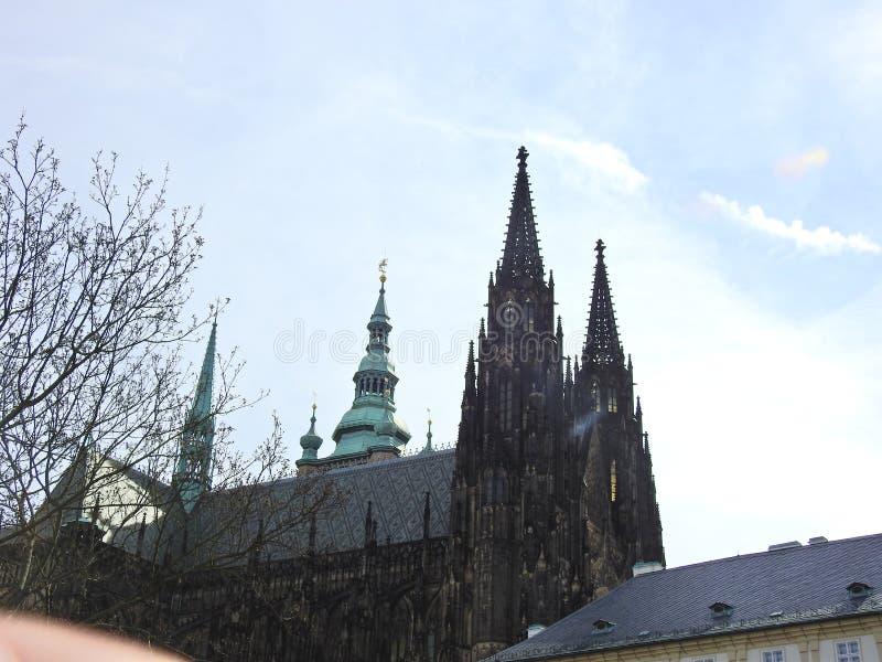 Praga en la primavera 2019 fotografía de archivo libre de regalías