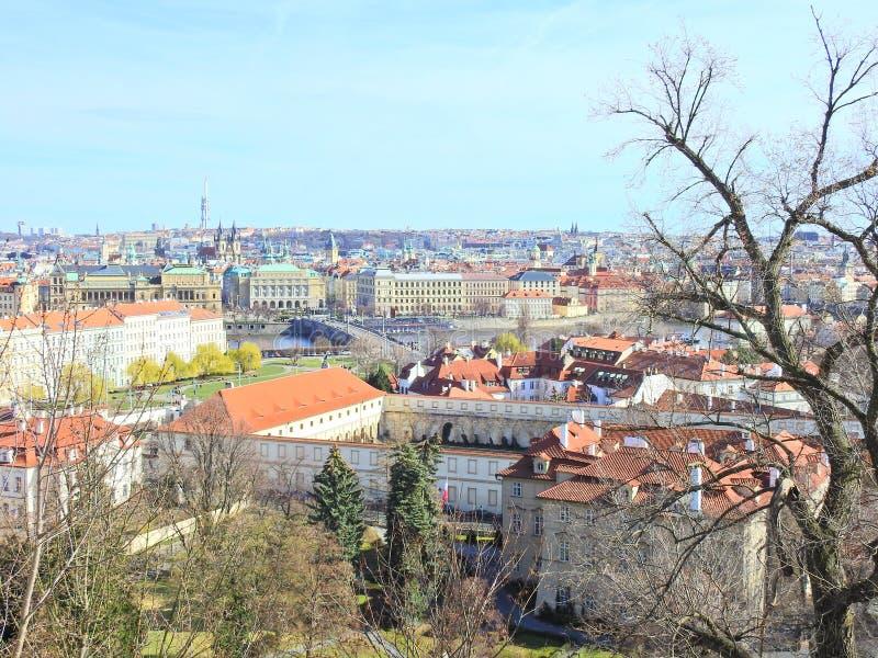 Praga en la primavera 2019 fotos de archivo libres de regalías