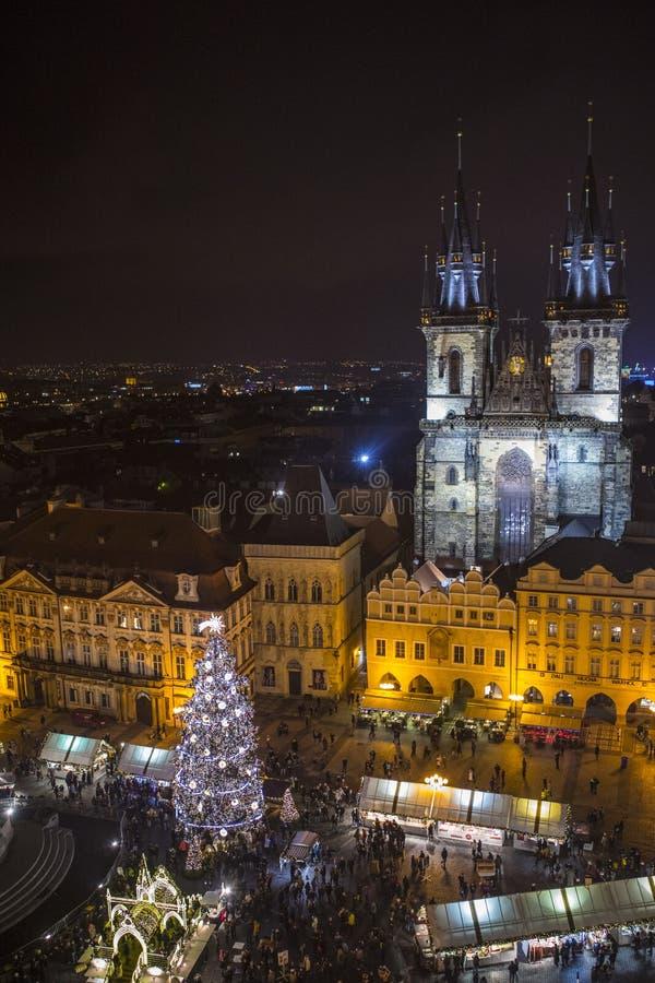 Praga en República Checa fotos de archivo