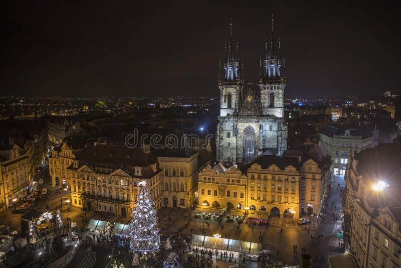 Praga en República Checa fotografía de archivo