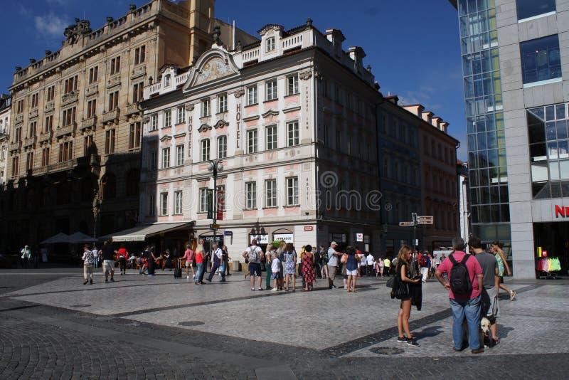Praga famosa fotos de archivo libres de regalías