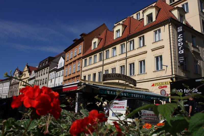 Praga famosa imagen de archivo libre de regalías