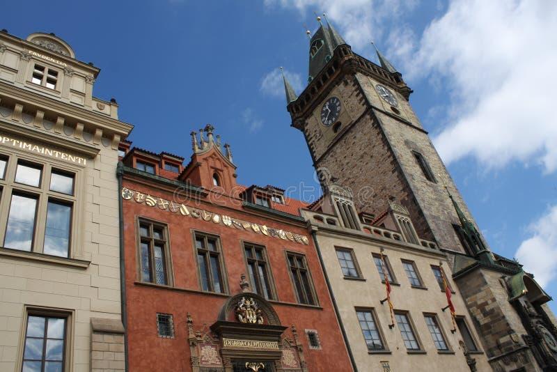 Praga famosa foto de archivo libre de regalías