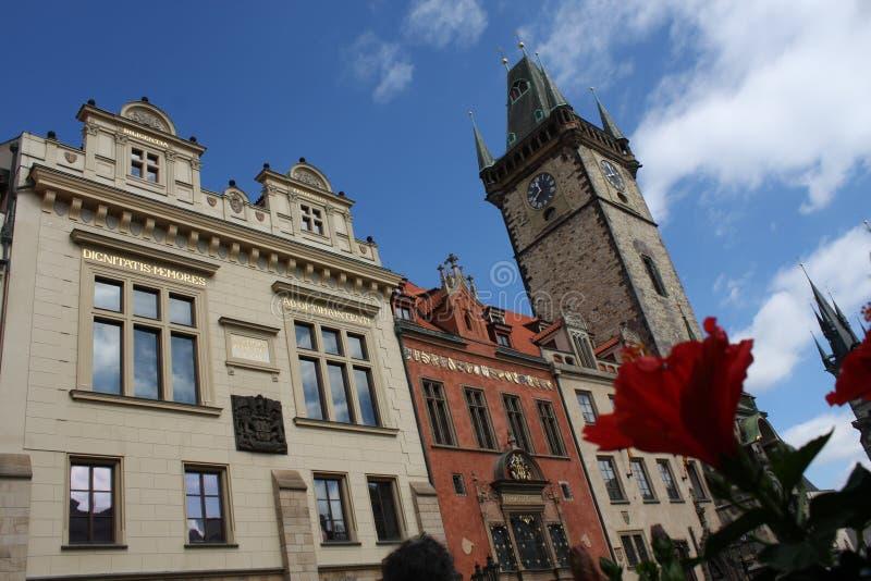 Praga famosa fotografía de archivo